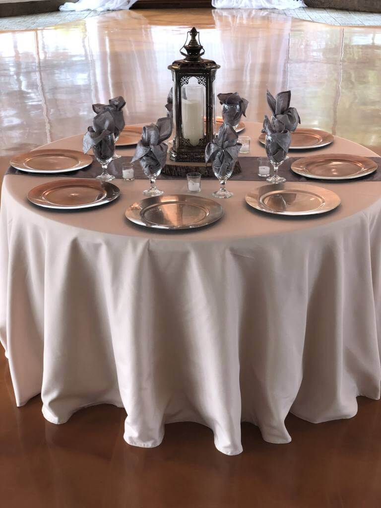 Champagne (Polyester) linens