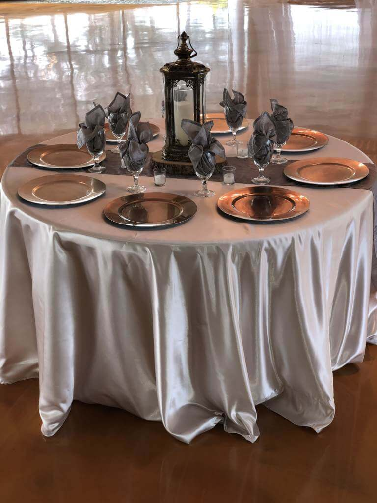 Pearl Champagne (Satin) linens